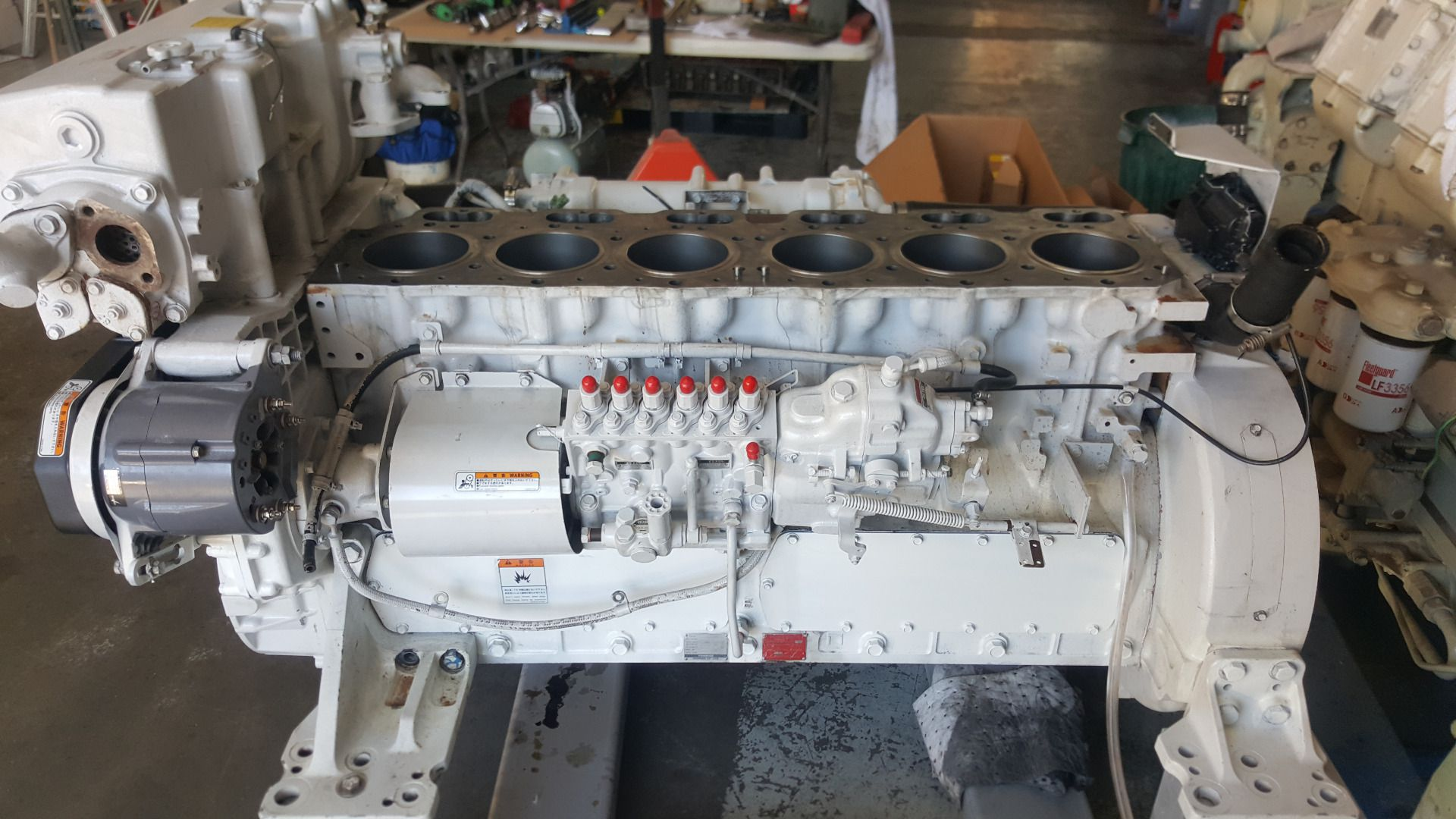Yanmar 6HYM-WET Overhaul