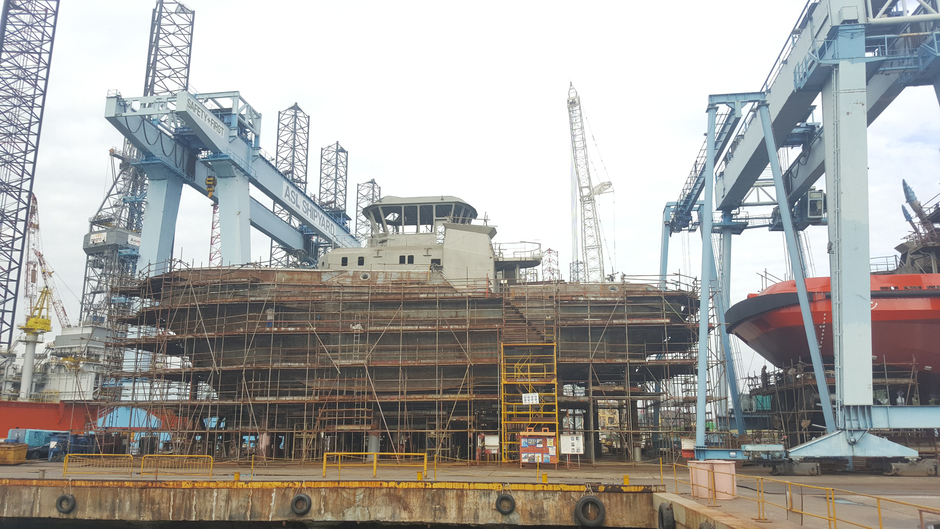 New build surveys for commissioning, fitout & sea trials