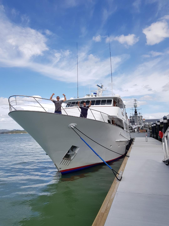 MV Mustique delivery - Brisbane to Bay of Islands